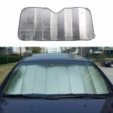 Sunshop Folding 130 60 Cm Auto Depan Window Shade Visor Aluminium Foil Car Windshield Sun Penutup Perlindungan Internasional Sunshop Diskon 50