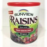 Harga Sunview Kismis Organik Raisins Red Seedless Jumbo Size Satu Set