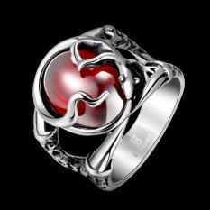 Beli Sunwonder Busana Pria 316L Stainless Steel Ring 8 Intl Yang Bagus