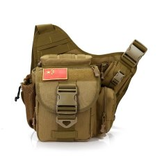 Spesifikasi Super Alforja Tactical Outdoor Mountaineering Bag Satchel Bag Bag Backpack Super Saddle Riding Photography Bagus