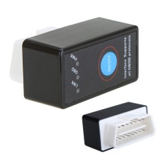 Super Mini Bluetooth ELM327 Antarmuka OBD2 CAN-BUSDiagnosticCarScanner Alat dengan Switch Bekerja Pada Android SymbianPhones WindowsXPWIN7 32-Bite -Intl