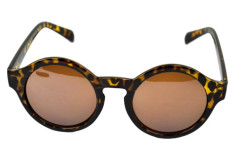 Harga Super Trendi Retro Round Bingkai Kacamata Hitam Kacamata Uv 400 Unisex Plate Frames Terbaik