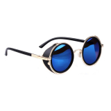 Harga Supercart Vintage Round Sunglasses Biru Yg Bagus