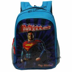 Harga Superman Kids Bag 3D Premium High Quality Murah