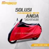 Jual Supernova Cover Motor Bebek Matik Merah Branded Original