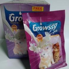 Susu kucing growssy 1 box [11 sachet]