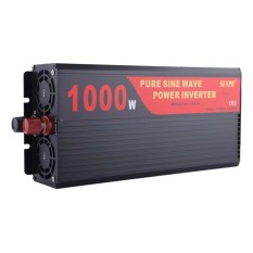 SUVPR DY-LG1000S 1000 W DC 24 V Ke AC 220 V Inverter Sine Wave Car Power Inverter dengan Universal Power Soket-Internasional