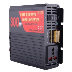 SUVPR DY-LG300S 300W DC 12V to AC 220V Pure Sine Wave Car Power Inverter with Universal Power Socket - intl