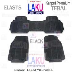 Suzuki Baleno Hatchback 2017 Karpet Premium 3Pcs Universal Black