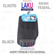Suzuki Ertiga GL Karpet Mobil Premium 3PCS Universal Black