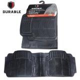 Review Terbaik Suzuki Ertiga Karpet Mobil Karet Pvc Durable 1Pcs Baris 3 Black