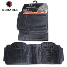 Diskon Besarsuzuki Ertiga Karpet Mobil Karet Pvc Durable 1Pcs Baris 3 Black