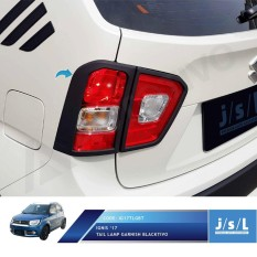 Suzuki Ignis Tail Lamp Garnish Blacktivo JSL / Garnish Lampu Belakang
