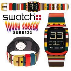 Swatch Digital Jam Tangan Karet Unisex SURB122 Tendone Original