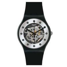 Beli Swatch Jam Tangan Pria Hitam Rubber Hitam Suoz147 Kredit North Sumatra