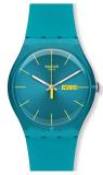 Beli Swatch Jam Tangan Pria Suol700 Turquoise Rebel Di Dki Jakarta