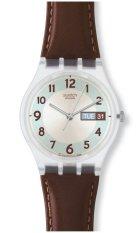 Spesifikasi Swatch Jam Tangan Wanita Ge704 Blue Conker Baru