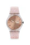 Harga Swatch Women S Jam Tangan Wanita Pink Strap Silicone Suok703 Swatch Baru