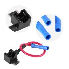 Sweatbuy 5 Pcs Mobil Auto Sirip Sirkuit Adaptor Blade Sekering Holder untuk Mudah & Aman Menggunakan