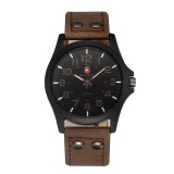 Review Swiss Army 8212 Men S Fashion Beautifully Designed Belt Watch Dark Brown Surface Intl Swiss Army