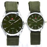 Beli Swiss Army Analog Jam Tangan Couple Casual Murah Tali Canvas Waterresistant Online Murah