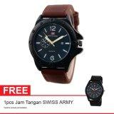 Toko Swiss Army Bogof Jam Tangan Pria Kulit Coklat Sa 0010 Bl Da Brw Lengkap Indonesia