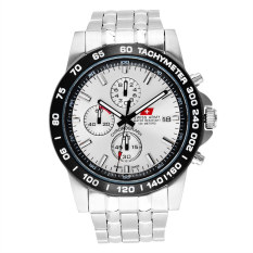 Swiss Army Chronograph Series HCC 1121 SS - Silver