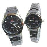 Spesifikasi Swiss Army Couple Jam Tangan Couple Black Stainless Dial Black Sa 2131 Ds Yg Baik
