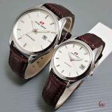 Beli Swiss Army Couple Jam Tangan Pasangan Tali Kulit Coklat Plat Putih Sa2994 Seken