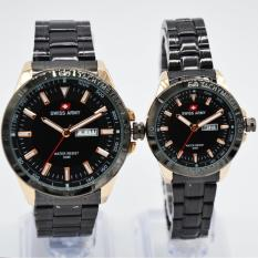 Harga Swiss Army Couple Serries Stainlesstell Strap Sa 5094 Ml Rose Gold Online