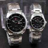 Jual Swiss Army Couple Stainless Steel Ds Branded Original