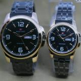 Harga Swiss Army Couple Stainless Steel Terbaru Elegant New