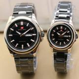 Review Tentang Swiss Army Couple Watch Black Gold Stainless Swiss Army Sa 5088 Coup Ss Bl