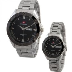 Jual Swiss Army Couple Watch Silver Stainless Swiss Army Sa 5088 Coup Sl Online