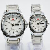Toko Swiss Army Couple Watch Silver White Stainless Swiss Army Sa 5249Ml Swiss Army Di Dki Jakarta