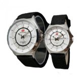 Beli Swiss Army Date Jam Tangan Couple Strap Canvas Sa 5096 Hp Nyicil