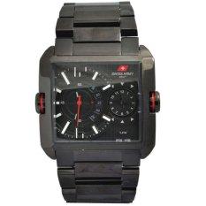 Review Swiss Army Dhc Sa 0122G Jam Tangan Pria Stainlesstell Strap Black Dki Jakarta