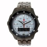 Jual Swiss Army Digital Combo Jam Tangan Pria Dial Hitam Silver Stainless Sa 1504 B Swiss Army Branded
