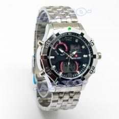 Toko Swiss Army Digital Sport Jam Tangan Pria Stainless Silver Dial Hitam Sa 1507 Ss Online Indonesia