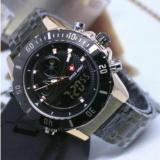 Beli Swiss Army Double Time Jam Tangan Pria Stainless Steel Sa 5660 Rz H Online