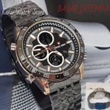 Review Toko Swiss Army Digital Dual Time Casual Men Watch Multifunction Quartz Digital Strap Stainless Steel Jam Tangan Pria Terbaru Online