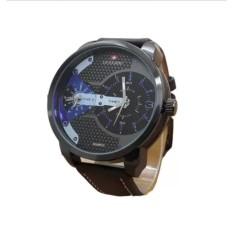 Review Swiss Army Dual Time Jam Tangan Pria Leather Strap Sa 1694 Dbb Jawa Barat