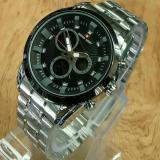 Jual Swiss Army Dual Time Jam Tangan Sport Pria Rubber Strap Sa 1503G Swiss Army Online