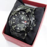Dapatkan Segera Swiss Army Dual Time Jam Tangan Sport Pria Rubber Strap Sa 5930 Dt