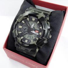 Situs Review Swiss Army Dual Time Jam Tangan Sport Pria Rubber Strap Sa 5930 Dt