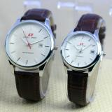 Jual Swiss Army Fashion Jam Tangan Couple Strap Kulit Sa06643 Online