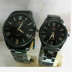 Jual Beli Swiss Army Fashion Sa742Gsd37 Jam Tangan Pasangan Stainless Steel
