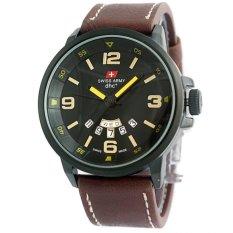 Swiss Army HC 1128 - Strap Leather - Black Dial Grey