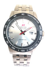 Toko Swiss Army Hc 3309 G Hcc 1121 Jam Tangan Pria Bezel Silver Stainless Steel Swiss Army Indonesia