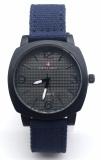 Spesifikasi Swiss Army High Quality Jam Tangan Pria Dan Wanita Biru Strap Kanvas Sat 04 B Murah Berkualitas